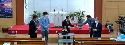 교회설립 29주년 기념 케익 컷팅식 영상